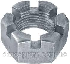 Гайка прорезная (корончатая) DIN 935 исп.1 М4... М80