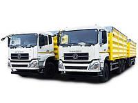 В Украине выпустили доступный зерновоз объемом 65 куб.м. на новом шасси Dongfeng Trucks (ДонгФенг)