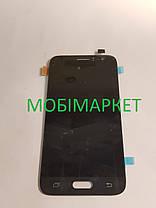 Модуль (дисплей+сенсор) для Samsung J120H Galaxy J1 (2016) AMOLED чорний, фото 3