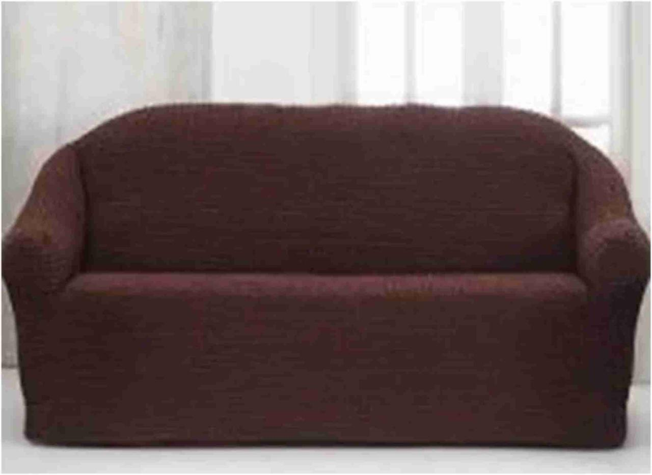 Накидка для дивана Grand 170*230 Тёмно-Коричневая / Накидка на диван