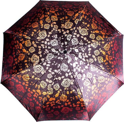 Красочный женский зонт автомат DOPPLER (ДОППЛЕР), DOP74665GFGF18-6, Антиветер