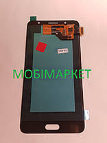 Модуль (дисплей + сенсор) для Samsung  J510H Galaxy J5 (2016) AMOLED чорний, фото 3