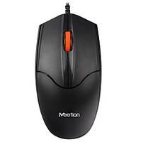 Миша дротова оптична Meetion MT-A1, чорна