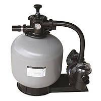 Фильтр для бассейна песочный Emaux FSF350, 4.32 м3/ч, с насосом с верхним подключением