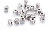 Бусина кубик, 6мм, фото 3