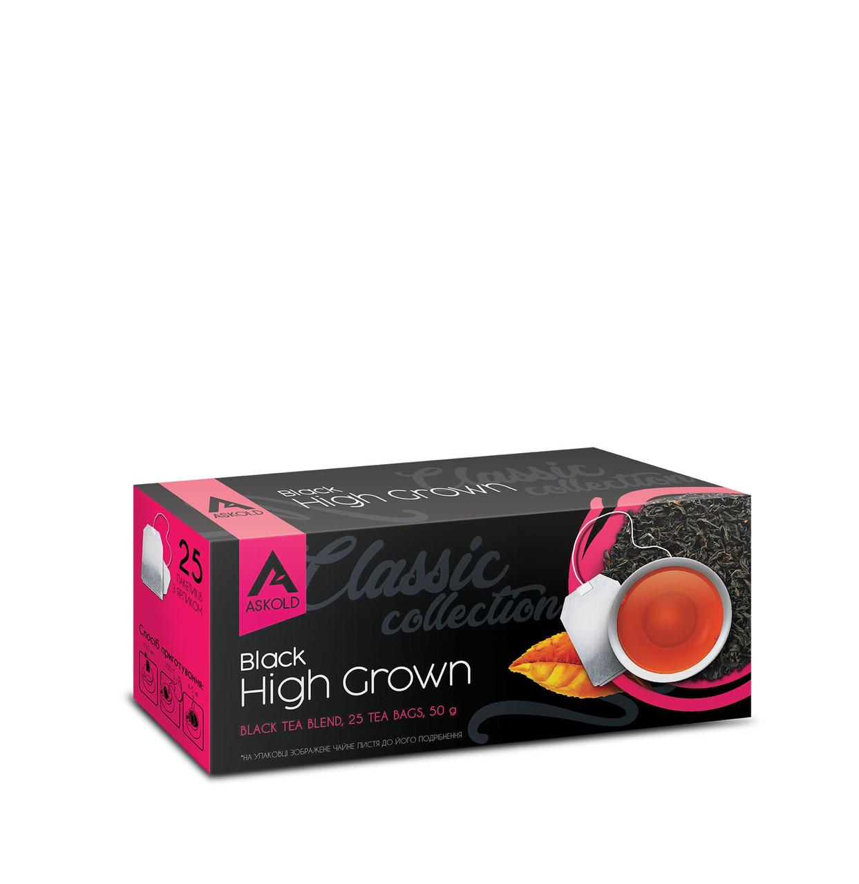 Чай Askold Високогірний чорний байховий цейлонський 25 пакетиків