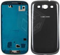 Корпус для Samsung Galaxy S3 i9300 - оригинальный (серый)
