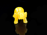 Статуэтка слоник маленький,жёлтый, фото 2