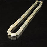 Бусы из оникса,трубочка, фото 2
