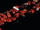 Бусы из красной  яшмы,бабочка, фото 3