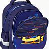Рюкзак ортопедический Kite Education 700 Fast cars, для мальчиков, синий K20-700M(2p)-4, фото 8