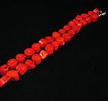 """Бусы из коралла """"Комфорт"""", красные, фото 3"""