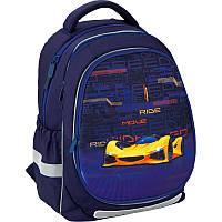 Рюкзак ортопедический Kite Education 700 Fast cars, для мальчиков, синий K20-700M(2p)-4