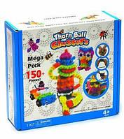 Детский конструктор липучка Top Top Bunchems 150 Pieces Вязкий пушистый шарик Банчемс на 150 деталей (an6113)