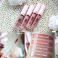 Глянцевая нюдовая помада GOLDEN ROSE Nude Look Natural Shine Lipgloss