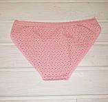 Трусы женские хлопковые Koza 39750-8 L розовые, фото 2