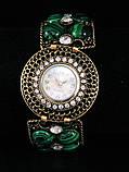 Часы с малахитом, фото 2