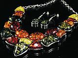"""Набор из янтарной смолы """"Соединение фигур"""", фото 2"""