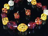 Набор из янтарной смолы,рис крученный, фото 2
