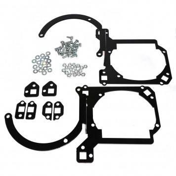 Переходные рамки для замены линз Mazda 3 2003-2009 на модуль Hella 3/3R / 10407, фото 2
