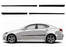 Молдинги на двері для Lexus IS Mk2 2005-2013