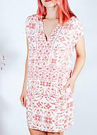 Летнее белое платье H&M, размер XS, арт. 30-1064