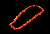 "Бусы из оранжевого коралла  "" Ронда, фото 3"