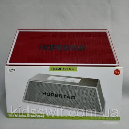 Портативная bluetooth колонка спикер Hopestar H28 Красный