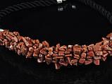 Жгут из крошки коричневого авантюрина, фото 2