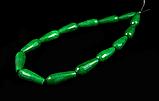 Заготовка из зеленого  агата  «капля», фото 2