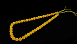 Заготовка из желтого агата,грань 8мм, фото 2