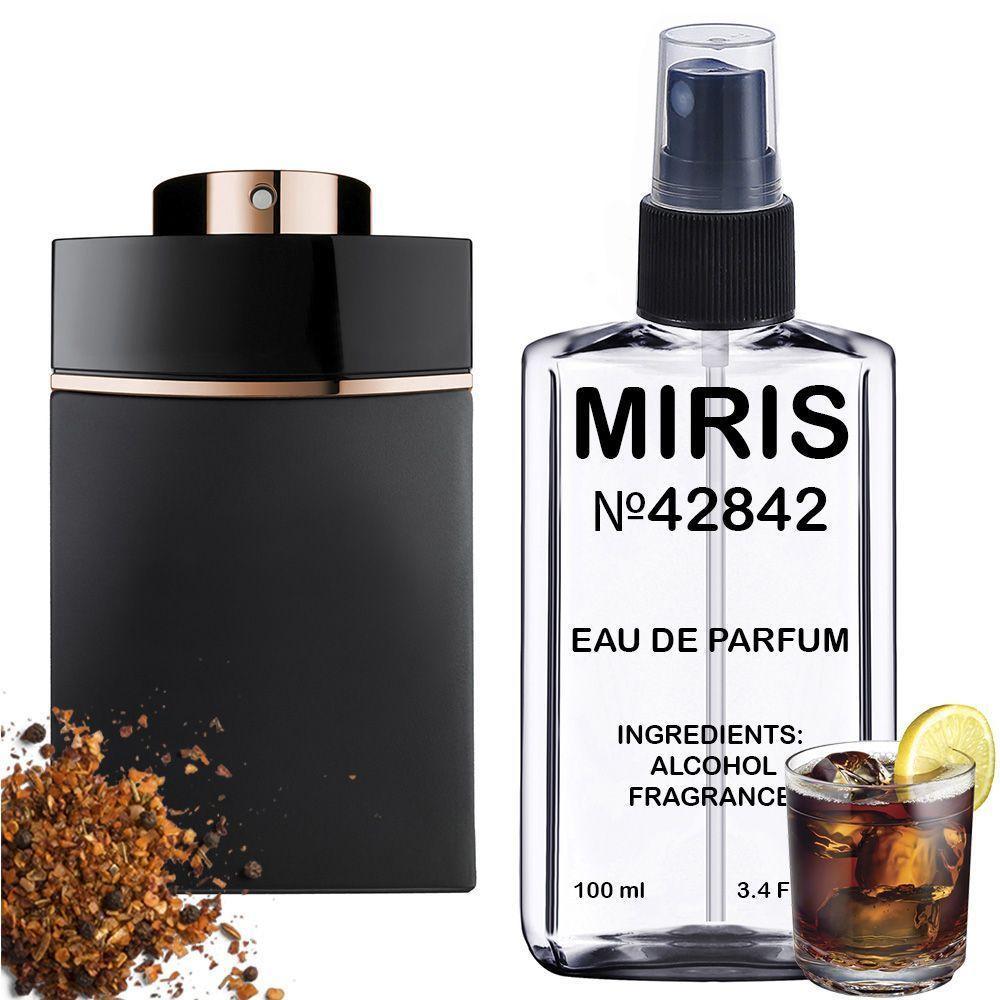 Духи MIRIS №42842 (аромат схожий на Bvlgari Man In Black) Чоловічі 100 ml