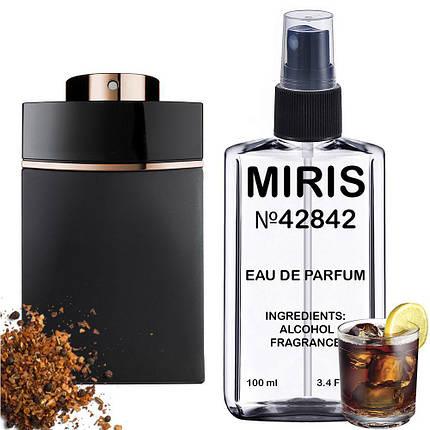Духи MIRIS №42842 (аромат схожий на Bvlgari Man In Black) Чоловічі 100 ml, фото 2