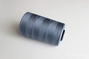Нитки швейные 42/2, 5000 метров,, темно-серый