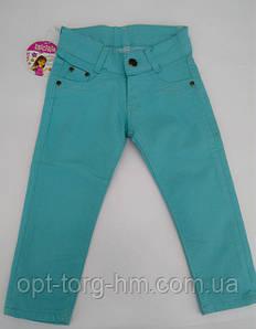Котоновые брюки для девочек