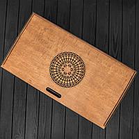 Подарочная коробка для хранения нард, шахмат, шашек, фото 1