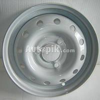 Стальные диски Кременчуг ВАЗ 1111 (Ока) R12 W4 PCD3x98 ET40 DIA60.5 (белый)