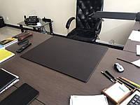 Подложка на стол Индиана Экокожа 400 х 600 мм тёмно-коричневая, фото 1