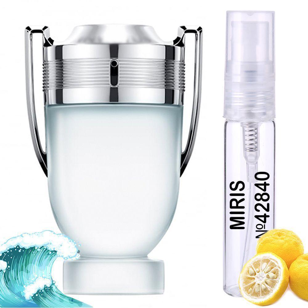 Пробник Духів MIRIS №42840 (аромат схожий на Paco Rabanne Invictus Aqua) Чоловічий 3 ml