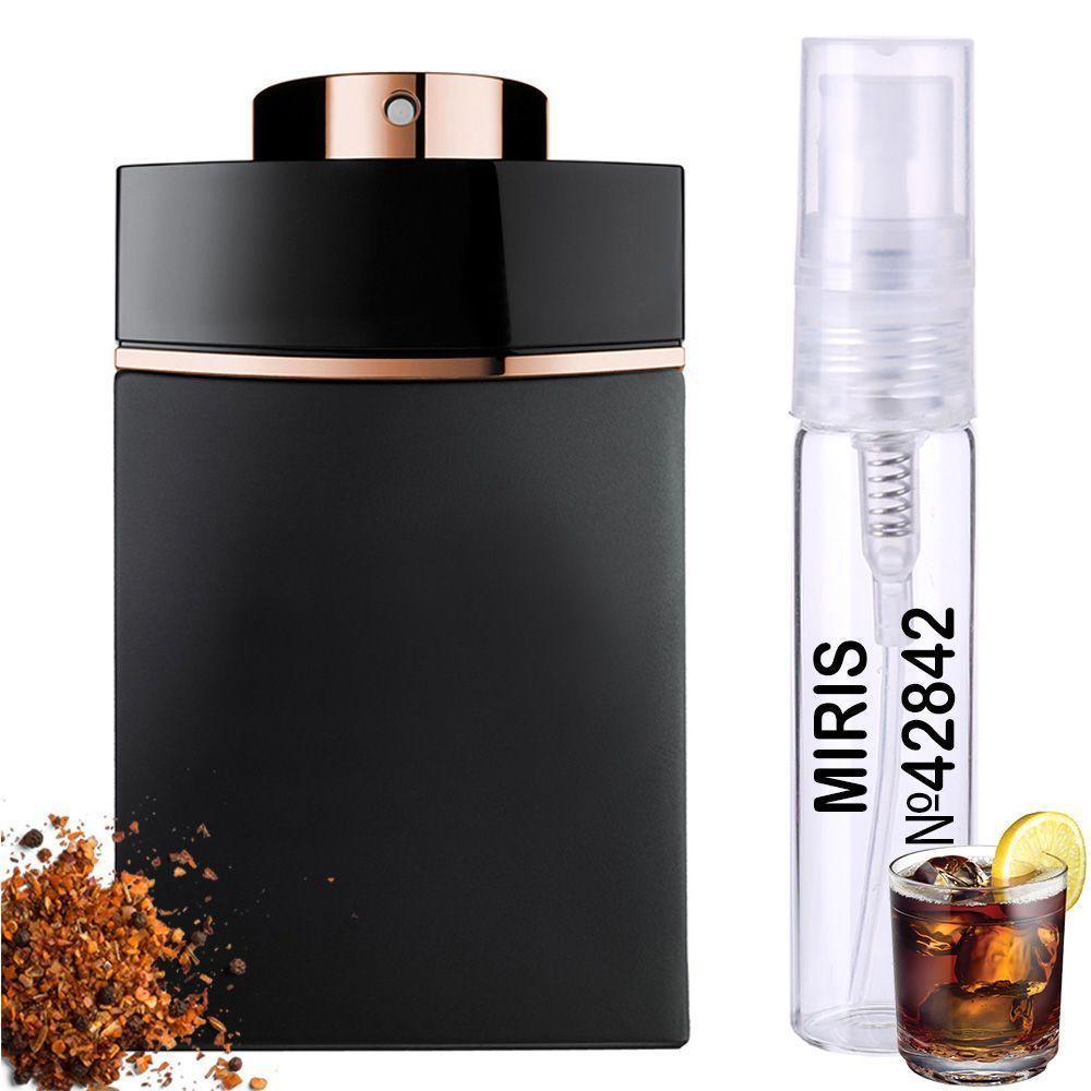 Пробник Духів MIRIS №42842 (аромат схожий на Bvlgari Man In Black), Чоловічий 3 ml