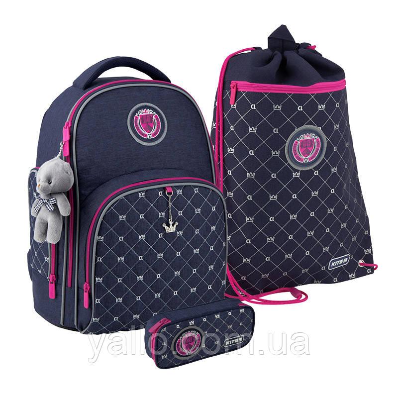 Школьный набор Kite College Line рюкзак пенал сумка SET_K20-706M-4