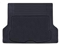 Коврик в багажник PVC with NBR 00202 BK черн. 144х110