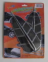 Накладки декоративные AD-60243 алюминий (пара)