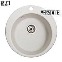 Кухонна мийка Galati Eva Biela (101)