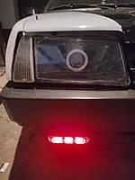 150*30мм. ДХО с диодными стрелками. Дневные ходовые огни с универсальным креплением на любой автомобиль