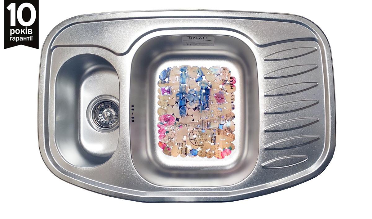 Кухонна мийка Galati Rampa 1.5 C Satin