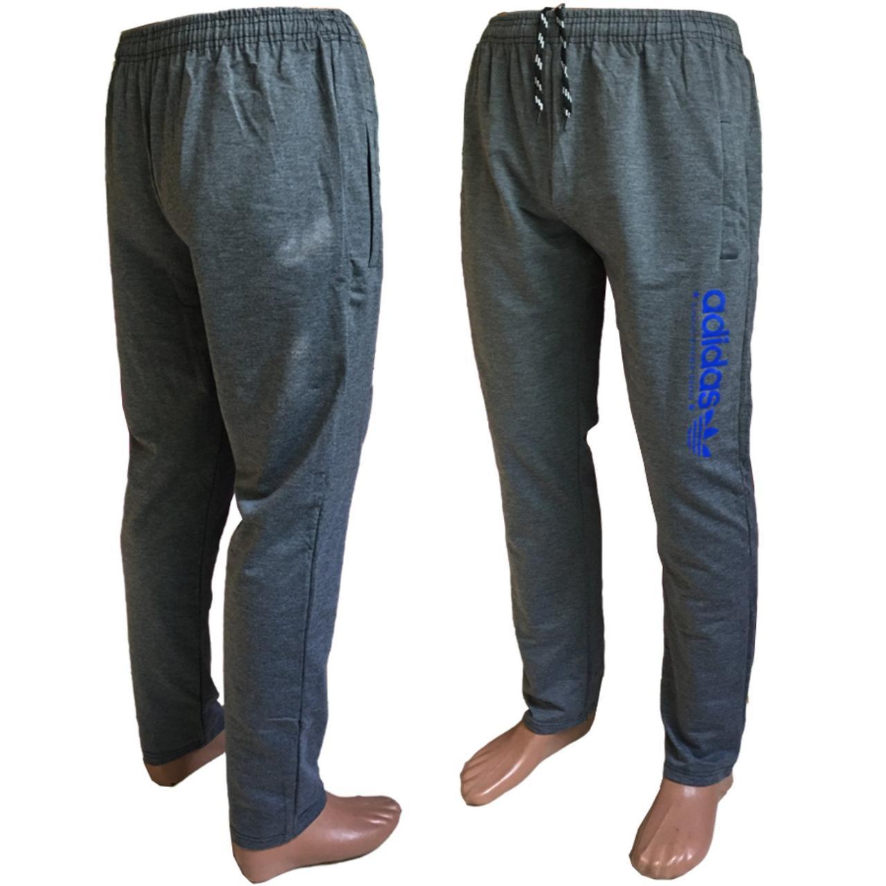 Мужские серые спорт штаны