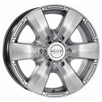 Литые диски Dotz Luxor R16 W7 PCD5x139.7 ET40 DIA59.6 (silver)
