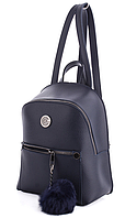 Молодежный рюкзак WeLassie 44403 с пушком, синий