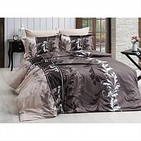 Комплект постельного белья турция First Choice. Satin Кофе - Евро 7463, фото 1